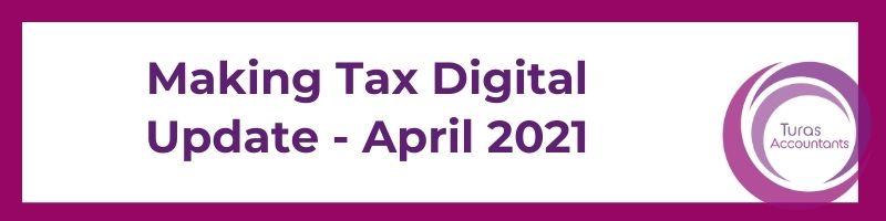 Making Tax Digital Update...