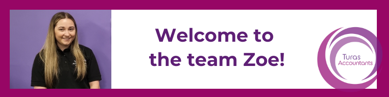 Welcome to the team Zoe!